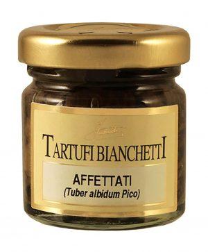 Sliced Bianchetti Truffles in olive oil 30g