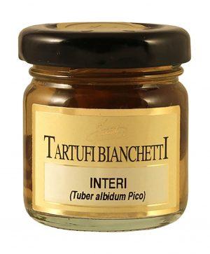 Whole Bianchetti Truffles jar 10g