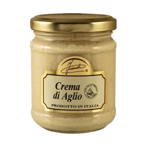 Garlic cream jar 180g