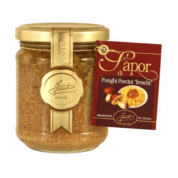 Fresh porcini mushroom sauce jar 180g