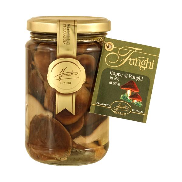 Lentinus Caps in olive oil 280g