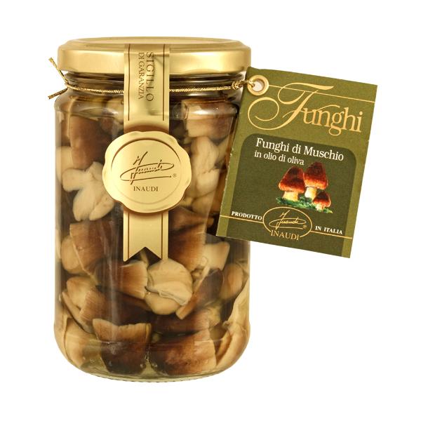 Moss Mushrooms in olive oil 280g