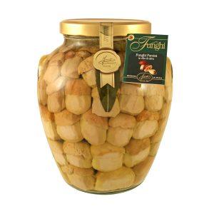 Funghi Porcini Interi in olio d'Oliva 3000g