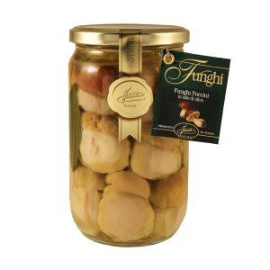 Funghi Porcini Interi in olio d'Oliva 670g