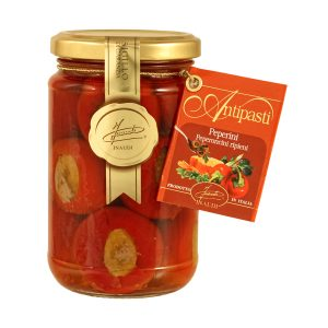 I Peperini - stuffed peppers in olive oil jar 280g