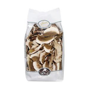Porcini secchi commerciali in sacchetto 250g