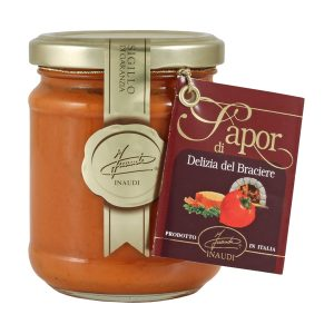 Peppers and Tuna cream delizia del braciere jar 180g
