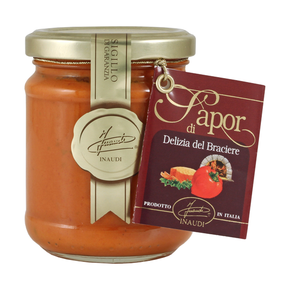 Peppers and Tuna cream delizia del braciere jar 180g