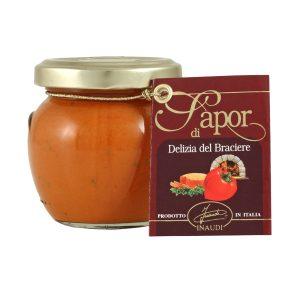 Crema di peperoni e tonno delizia del braciere vasetto 80g