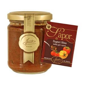 Bagnet Ross typical Piedmontese sauce jar 180g