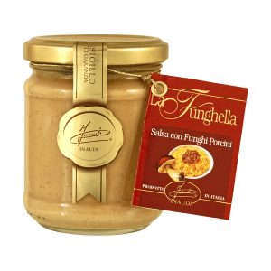 Funghella - Porcini mushroom ready to use sauce jar 180g
