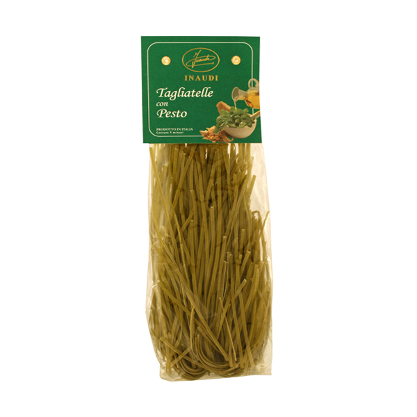 Tagliatelle with Pesto transparent pack 250g