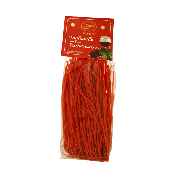 Tagliatelle with Barbaresco DOCG wine transparent pack 250g