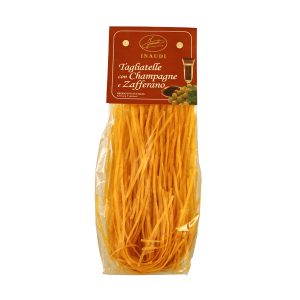 Tagliatelle with Saffron and Champagne transparent pack 250g