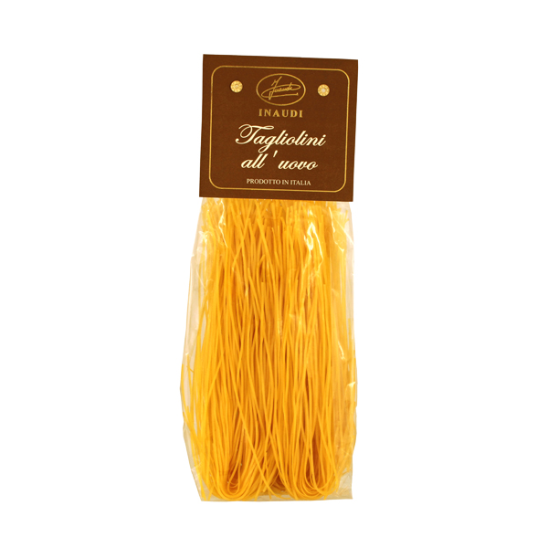 Tagliolini with eggs transparent pack 250g