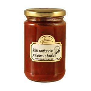 Salsa rustica con pomodoro e basilico 280g