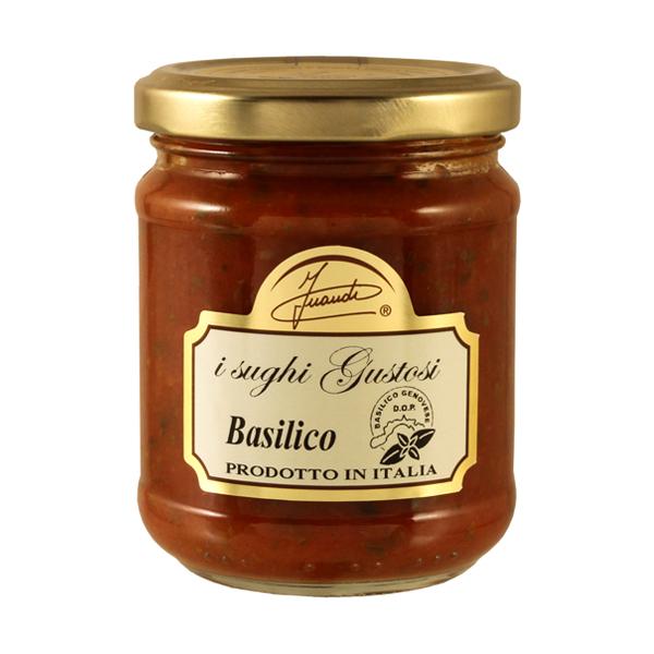 Basil tomato sauce jar 180g