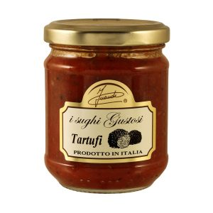 Tomato sauce with Truffles jar 180g
