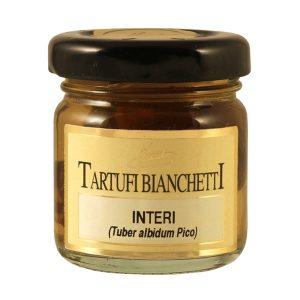 Tartufi bianchetti interi in vaso 10g