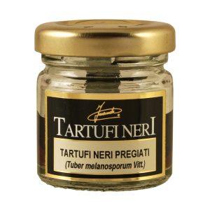 Tartufi Neri Interi Pregiati in vaso 10g