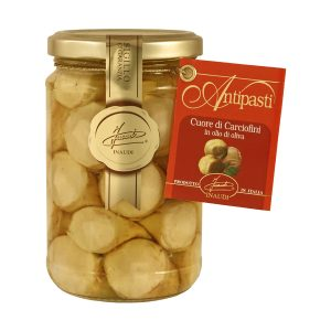 Whole Small Roman Artichokes jar 280g