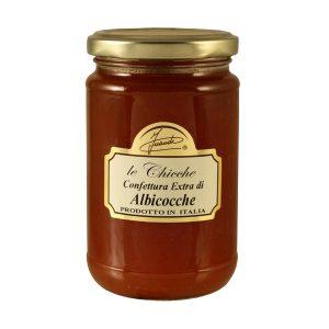 Confettura extra di albicocche vasetto 350g - Apricots extra preserve jar 350g