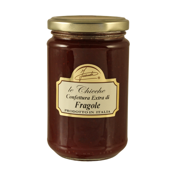 Confettura extra di fragole vasetto 350g - strawberries extra preserve 350g