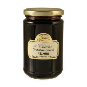 Wild Blueberries extra preserve jar 350g