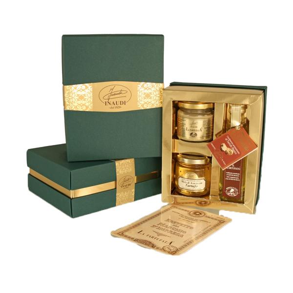 """Confezione regalo Luxury Box """"Tartufo Bianco"""""""
