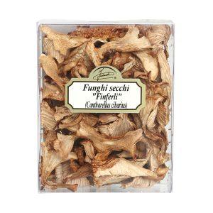 Finferli secchi 20g Cantharellus cibarius scatolina 20g