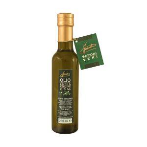 Olio extra vergine di oliva non filtrato bottiglia 250ml