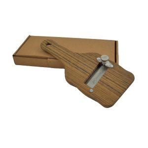 Tagliatartufi in legno di Palissandro regolabile