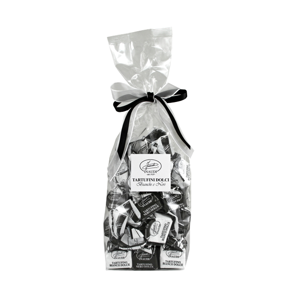 Tartufini dolci bianchi e neri sacchetto 200g