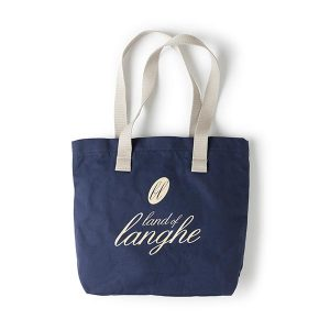 "Borsa ""Land of Langhe"" Blu Navy"