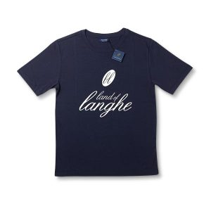 T-Shirt Land of Langhe Blu Navy