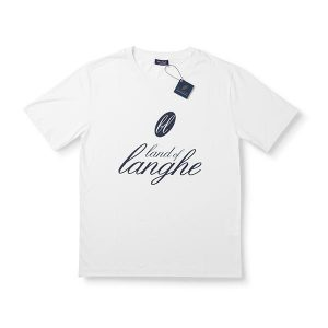 "T-Shirt ""Land of Langhe"" Bianca"
